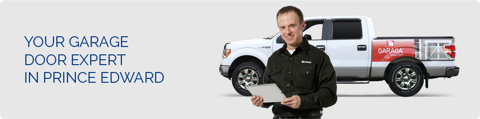 Your garage door expert in Prince Edward